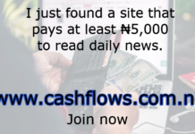 cashflow sponsored post for today