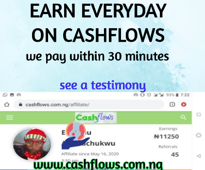 cashflows earn everyday