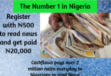 cashflows number 1 in Nigeria