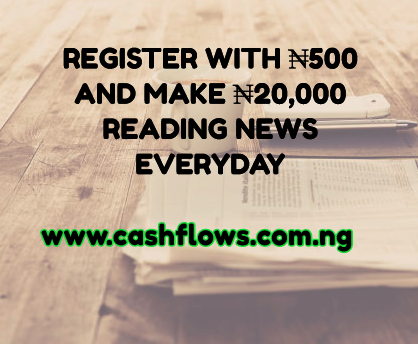 cashflows sponsored post for 11th May