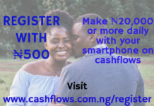 cashflows sponsored post for 14th may