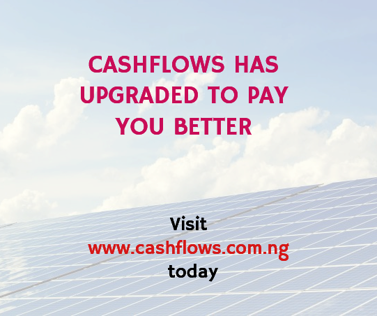 cashflows has upgraded to pay you better