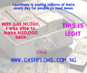cashflows millions of naira